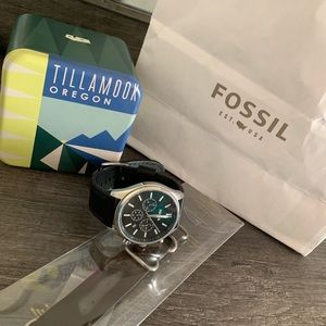Fossil watch with extra strap